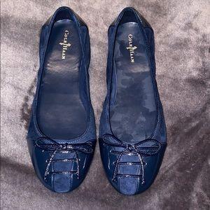 Cole Haan Blue Shoes